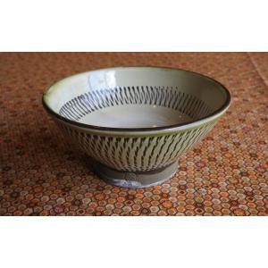 小鹿田焼き(おんたやき) 飯碗D|kohanchawanhaduki