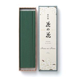 お香 インセンス 日本香堂 ユリの香り「香水香花の花 ゆり 長寸40本入」|kohgallery