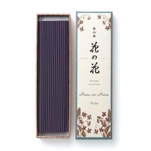 お香 インセンス 日本香堂 スミレの香り「香水香花の花 すみれ 長寸40本入」|kohgallery