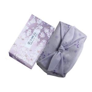 お線香 「 風呂敷付 宇野千代のお線香 淡墨 ( うすずみ ) の桜 バラ詰 」|kohgallery