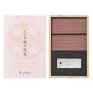 お香 日本製 日本香堂 桜の香り インセンス 大江戸香 桜の花衣(さくらのはなごろも) 60本入|kohgallery