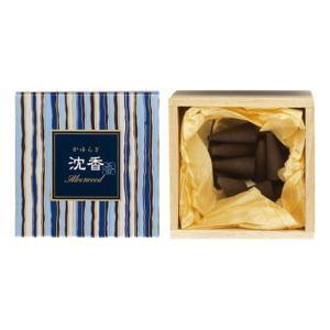 お香 日本香堂 日本製 沈香の香り インセンス「かゆらぎ 沈香 コーン型12個入」 kohgallery
