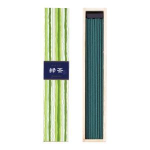 お香 インセンス 「かゆらぎ 緑茶 スティック40本入」|kohgallery