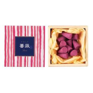 お香 インセンス 「かゆらぎ 薔薇 コーン型12個入」|kohgallery