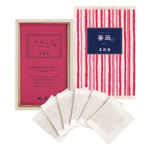 名刺香 香り袋 「かゆらぎ 薔薇 桐箱6入」|kohgallery