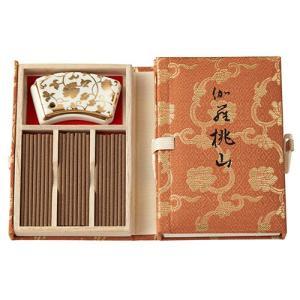 お香 スティック 日本製 伽羅の香り 伽羅桃山 スティック36本入 kohgallery
