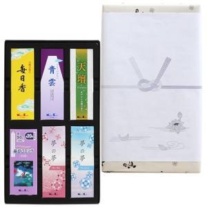 線香 ギフト 贈答用 日本香堂 喪中見舞い 御香セット1500°包装品 kohgallery