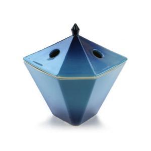 縁香炉 青|kohgallery