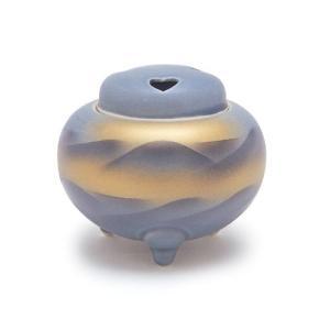 香炉 「九谷 平丸連山 九谷焼」|kohgallery