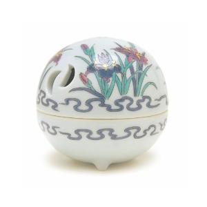 香炉 「錦菖蒲 丸 有田焼」|kohgallery