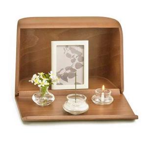 仏具 やさしい時間 祈りの手箱 ブラウン ミニ仏壇をお探しの方へ kohgallery