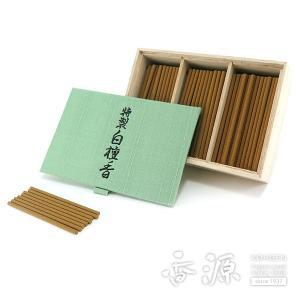 日本香堂のお香 特製白檀香 スティックミニ寸お徳用について  天然の香料をふんだんに使い、より本格的...