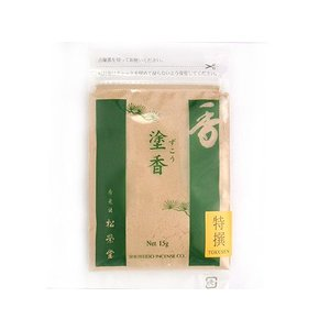 松栄堂のお香 京都 特撰塗香 15g|kohgen