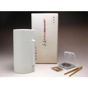 電池式香炉 松栄堂 ひとたき香炉 こづつ 白 京都 電子香炉 日本製