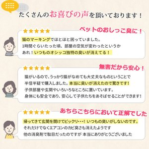 消臭剤 イヌ ネコ カビ 部屋 介護 臭い バイオ 強力消臭 バイオミックス300g(15箇所分)|kohitaseroi|07