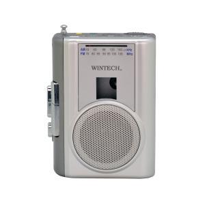 WINTECH ラジオ付きテープレコーダー PCT-02RM kohkavalue
