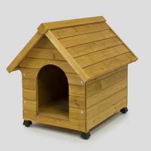 犬舎 400 犬小屋 屋外 木製 野外 室外 庭用 外飼 ドッグ ハウス おうち おしゃれ かわいい...