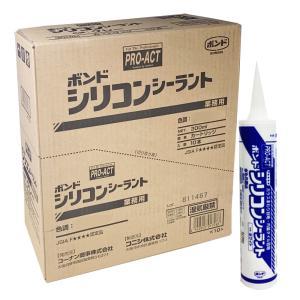 コーナン オリジナル PROACT コニシ シリコンシーラント ホワイト 300ml 【シリコーンシ...
