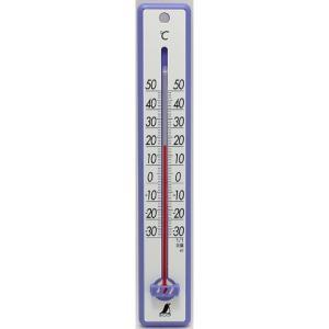 シンワ測定  シンワサーモメーター 25cm ブルー