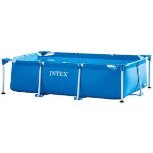 ◆INTEX レクタングラ フレーム プール 約260×160×65cm 日本正規品