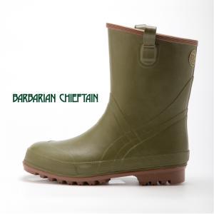 バーバリアンチーフテンBCFS−03 BARBARIAN CHIEFTAIN ミドル丈 長靴 ラバーブーツ アウトドア おしゃれ 弘進 KOHSHIN|kohshin-shop
