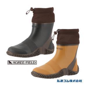 AGREEFIELD AG-2024 長靴 男女兼用 蚊が寄りつきにくい 弘進 KOHSHIN|kohshin-shop
