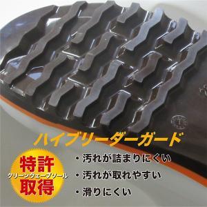 ハイブリーダーガードHB-500 詰まりにくい&滑りにくい安全長靴 PVC 先芯入り 弘進 KOHSHIN kohshin-shop 04