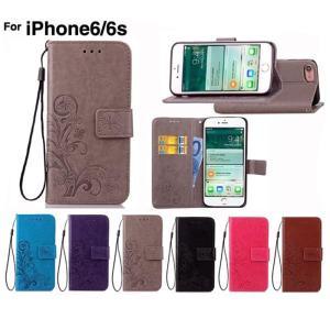 アイフォン6ケース スマホケース 手帳型 iPhone6 i...