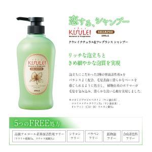 KUULEI(クウレイ)ナチュラル&フレグランスシャンプー|koi-cosme|04