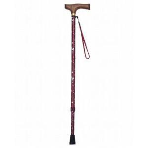 マスコットステッキ 伸縮タイプ / T-7601 エンジ 杖【ギフトに♪】|koichi