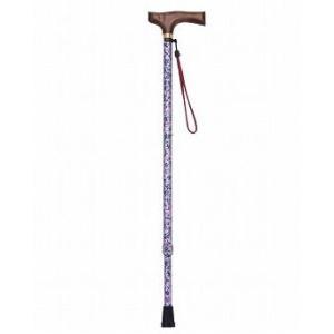 マスコットステッキ 伸縮タイプ / T-7604 うす紫 杖【ギフトに♪】|koichi