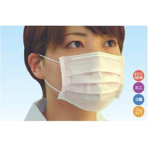 【送料無料】 ファーストレイト アイソレーション レギュラーマスク ミニマスク 1箱50枚×40箱 特価! 3層 マスク 子供用 女性用 大人用|koichi
