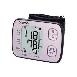 オムロン 自動血圧計 HEM-6220-PK ピンク(手首式) koichi