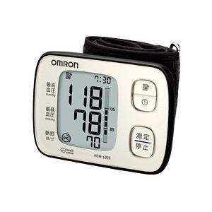 オムロン 自動血圧計 HEM-6220-SL シルバー(手首式) koichi