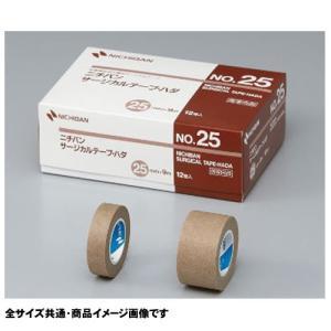 ニチバン サージカルテープ・ハダ  No.12 医療用不織布 24巻入 サイズ:12mm×9m 肌色|koichi
