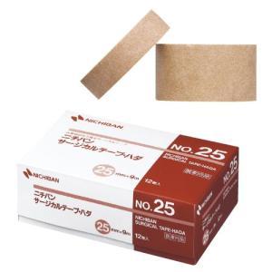 ニチバン サージカルテープ・ハダ  No.25 医療用不織布 12巻入り サイズ:25mm×9m 肌色|koichi