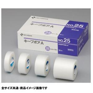 ニチバン キープポアA No.25 12巻入り KPA25 半透明テープ 固定テープ|koichi