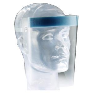【ケース 20個入】フェイスシールド UNIVET703 曇りにくい加工 ディスポ  ユニベット 使い捨て 顔の保護 感染予防 ※お取り寄せ品|koichi