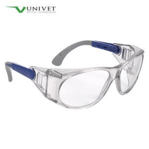 保護めがね UNIVET539 通気孔 曇りにくい 目の保護 感染予防 メガネ ガード ユニベット 保護眼鏡|koichi