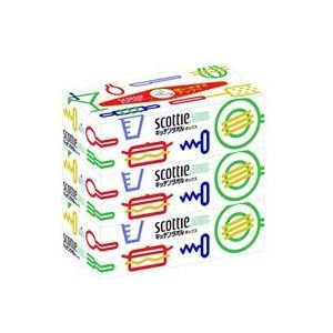 【段ボール1ケースでの配送】クレシア スコッティ タオルボックス 75組×3箱 ×12入|koichi