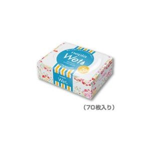 【段ボール1ケースでの配送】ネピア ウエットティッシュボックス(70枚入り)×24コ|koichi