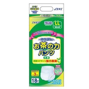 いちばん お茶の力パンツ LLサイズ 1袋18枚×4入 大人用紙おむつ パンツタイプ【ケースでの配送:送料無料】|koichi