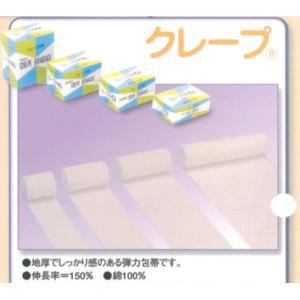 竹虎 クレープNo.6 弾力包帯 5cm×4.5m(伸長) 6巻入◆宅配便でのお届けのみ◆|koichi