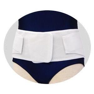 竹虎 ランバック ホワイト Mサイズ 腰部固定帯 医療用コルセット 腰痛用 サポーター 腰用 メッシュ 033983|koichi