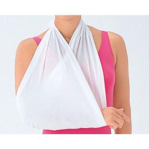 竹虎 三角きん 三角巾 Mサイズ 95cm×95cm×135cm 1枚 綿100% 救急 ケガ 骨折 手当 防災|koichi