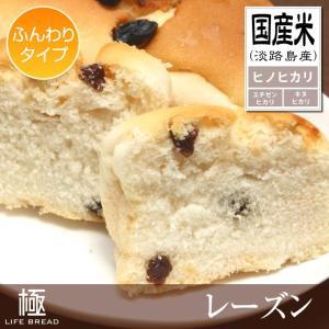 グルテンフリー米粉パン・レーズン ふんわり│国産米