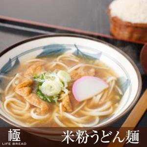 グルテンフリー米粉うどん麺 6人前│国産米