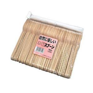 使い捨て 木製スプーン16cm 100本入り