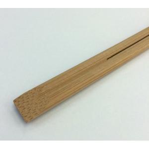 割り箸 竹箸 竹天削24cm 炭化箸(すす竹) 100膳ポリ入り