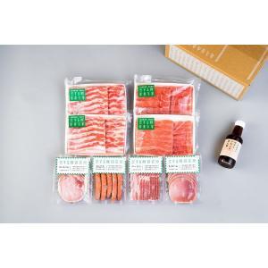C:恋する豚のしゃぶしゃぶとハムとベーコンとソーセージのセット